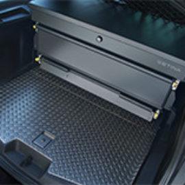 Setina cargo solutions inside of a police cruiser