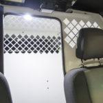 inside image of k-9 transportation for police vehicles