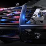close up of setina bumper PB-450L with lights on