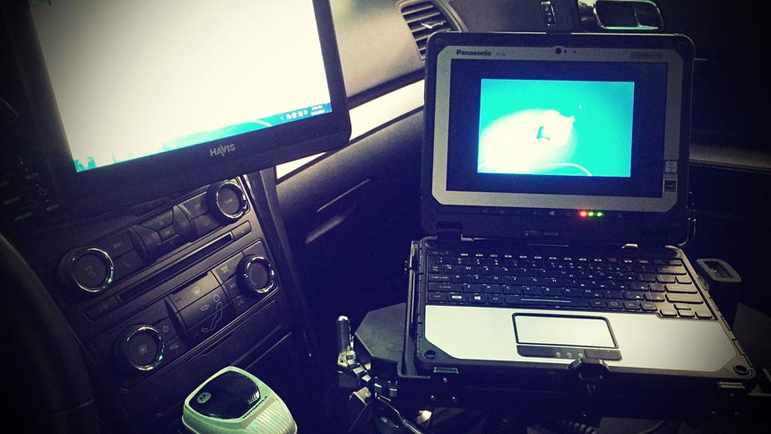 Upfit Interior TOUGHBOOK