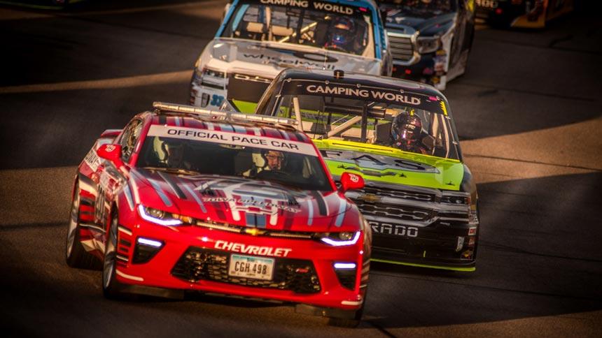 Iowa Speedway Car Lightbar